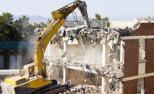 building demolition in houston, tx